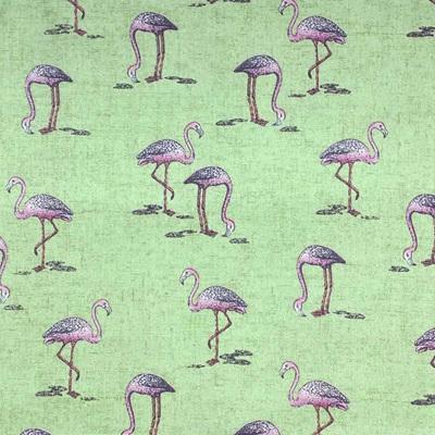 Fern Garden - Flamingo