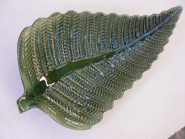 Fern Platter, NZ collectable, ceramics