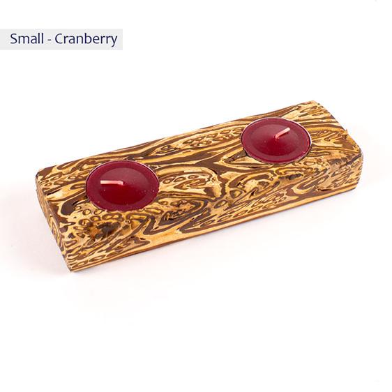 fernwood waka candle - small - cranberry