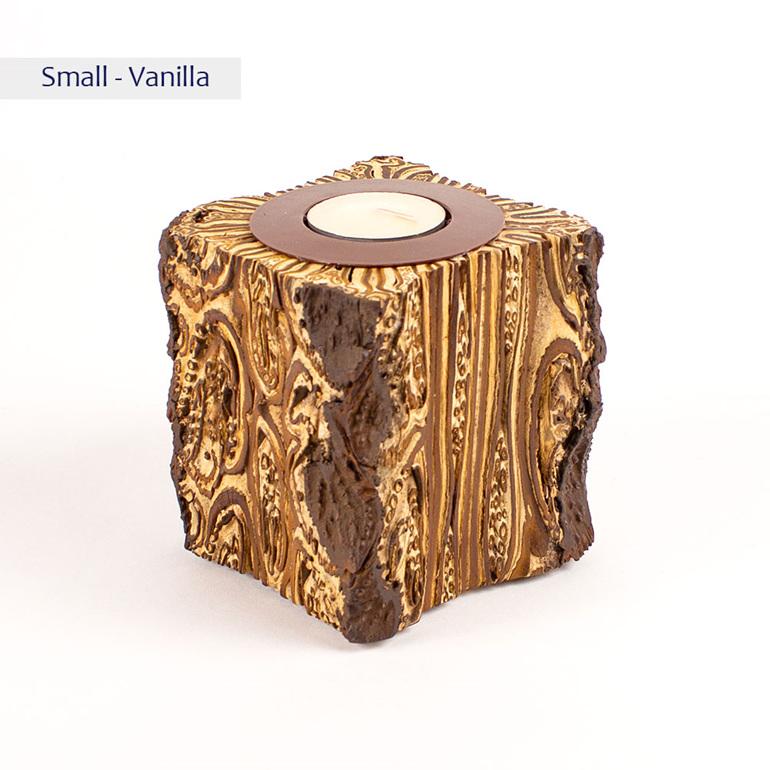 fernwood warrior candle - small - vanilla