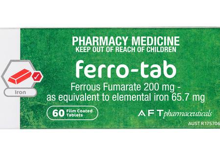 Ferro 60 TAB's