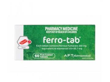 Ferro Tab 200mg Tablets