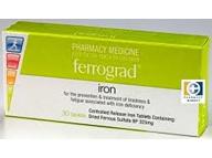 Ferrograd iron (30 tabs)  gradual release