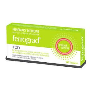 FERROGRAD TAB PACK OF 30