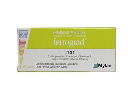 FERROGRAD TABS 30