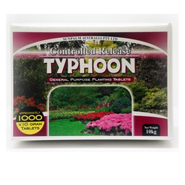 Fertiliser Tablets Typhoon 10gm planting tablets 1000 Per box