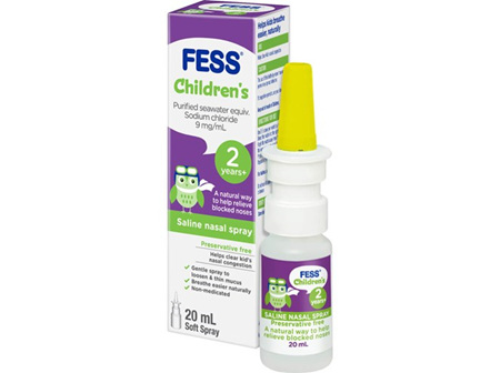 FESS Childrens Nasal Spray 20ml