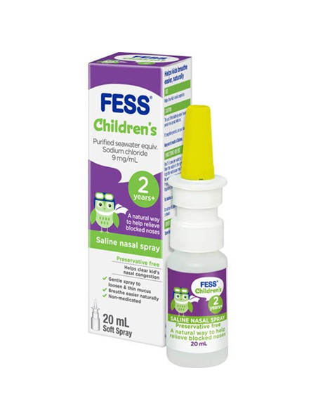 FESS Childrens Nasal Spray 20ml