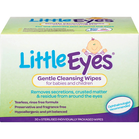 FESS Little Eyes Wipes 30s