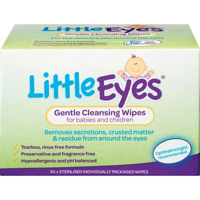 FESS Little Eyes Wipes 30s