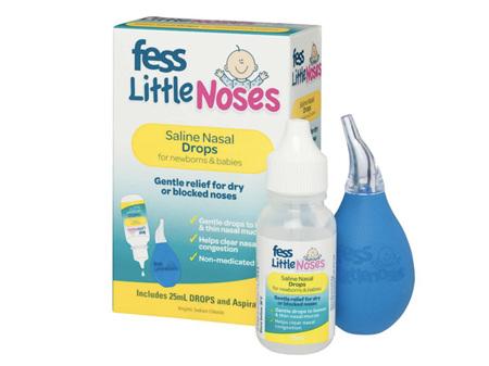 FESS Little Noses Drops & Asp. 25ml