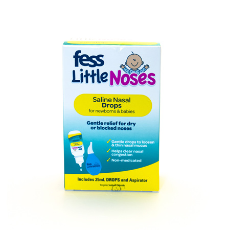 Fess Little Noses Drops + Aspirator