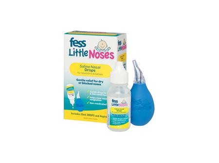 Fess Little Noses Drops + Aspirator