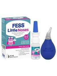 FESS Little Noses Spray & Asp. 15ml