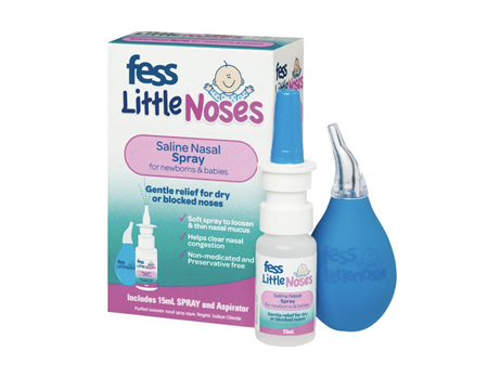 FESS Little Noses Spray & Aspirator 15ml