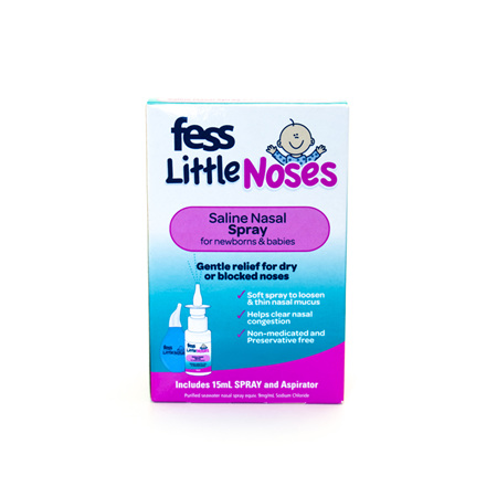 Fess Little Noses Spray + Aspirator