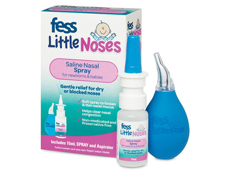 Fess Little Noses Spray + Aspirator