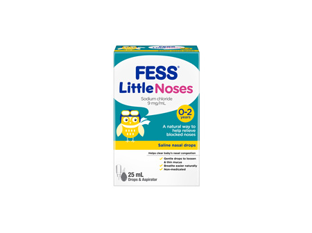 Fess Littlenoses Drops and Aspirator 25mL