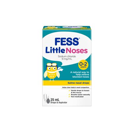 Fess Littlenoses Drops + Aspirator 25ml