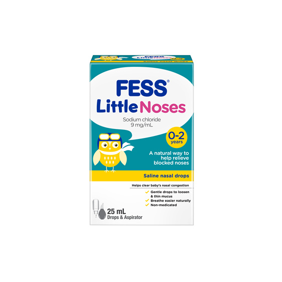 Fess Littlenoses Drops + Aspirator 25ml