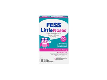 Fess Littlenoses Spray and Aspirator 15 mL