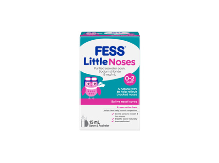 Fess Littlenoses Spray + Aspirator 15 ml