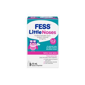 Fess Littlenoses Spray + Aspirator 15 ml