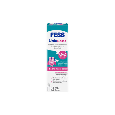 Fess Littlenoses Spray Single 15 ml