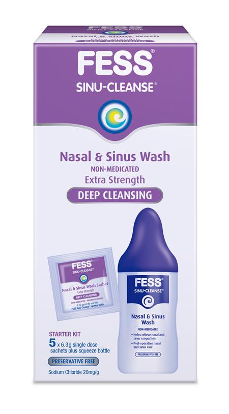 Fess Sc Wash Starter Kit (Ext Strength)