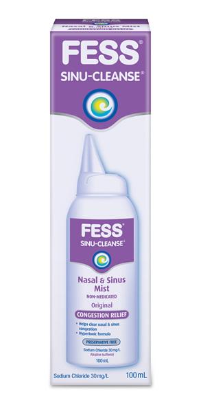 Fess Sinu-Cleanse Hypertonic Spray 100ml