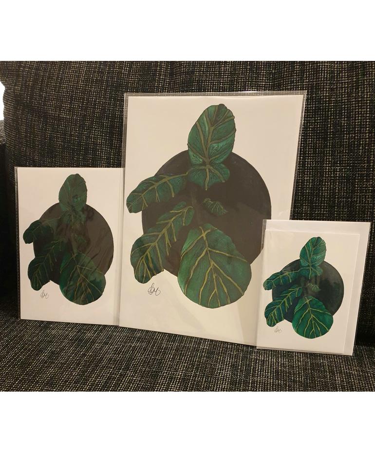 Fiddle Leaf Greeting Card