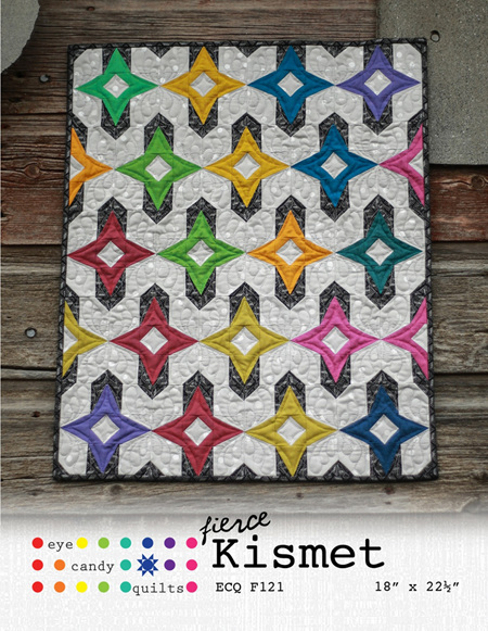 Fierce Kismet by Eye Candy Quilts