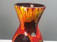 Fiery Vintage West German Vase by Scheurich