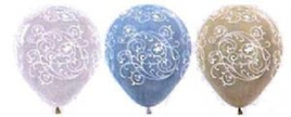 Filigree patterned Balloons