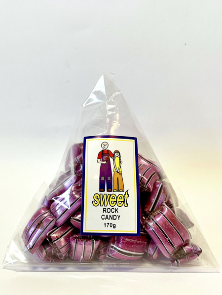 FILLED ROCK CANDY  (Chocolate / Sherbet)