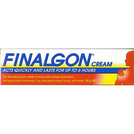 Finalgon Cream 50G