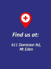 Find us at 611 Dominion Rd Mt Eden