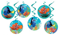 Finding Dory Hanging Swirl Decorations