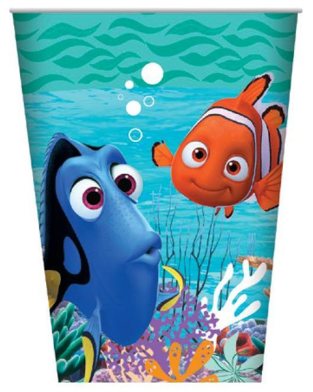 Finding Dory Party Cups x 8