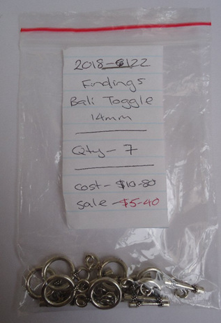 Findings - Bali Toggle - 14mm
