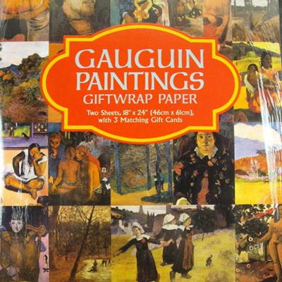 Fine Art Giftwrap Paper - Gauguin Paintings