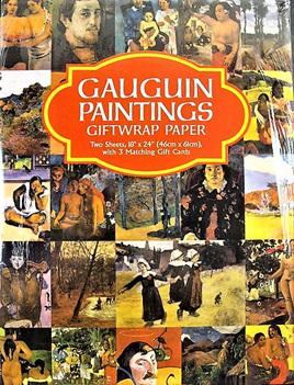 Fine Art Giftwrap Paper Gauguin Paintings