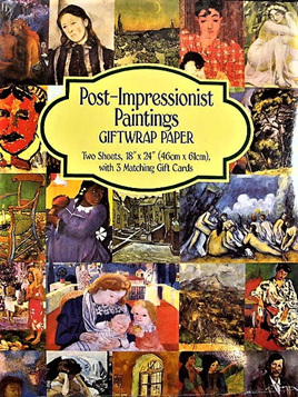 Fine Art Giftwrap Paper Post-Impressionist Paintings