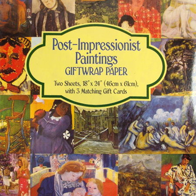 Fine Art Giftwrap Paper - Post-Impressionist Paintings