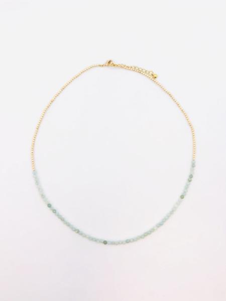 Fine Crystal Necklace - Adventurine