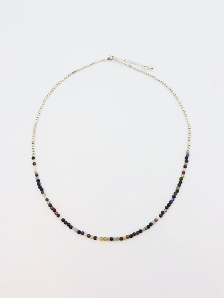 Fine Crystal Necklace - Red Agate