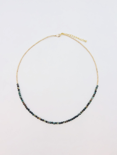 Fine Crystal Necklace - Turquoise