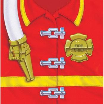 Firefighter Beverage Napkins x 16