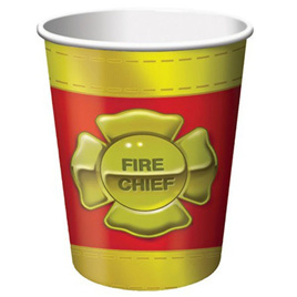 Firefighter Party Cups x 8