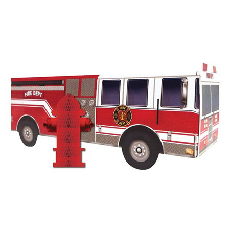 Firewatch Fire Truck Centrepiece